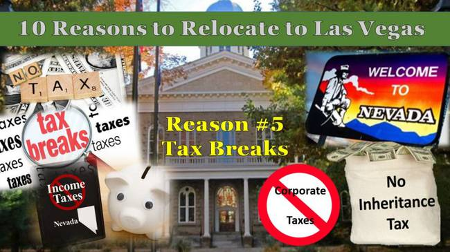 Top 10 Reasons To Relocate To Las Vegas