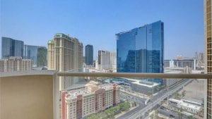 MGM high rise Las Vegas Strip condominium view