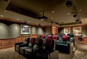 theater park towers condominiums amenities