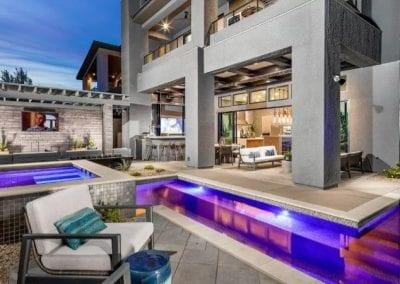 gated communities in Las Vegas pool spa