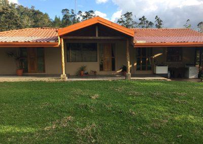 Costa Rica Ranch porch