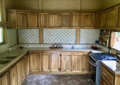 Costa Rica kitchen cupboards