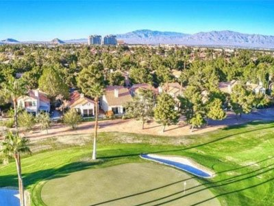 Golf Course communities homes in golf community for sale guard gated 55+