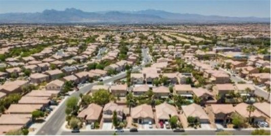 advanced search for Las Vegas homes for sale aerial